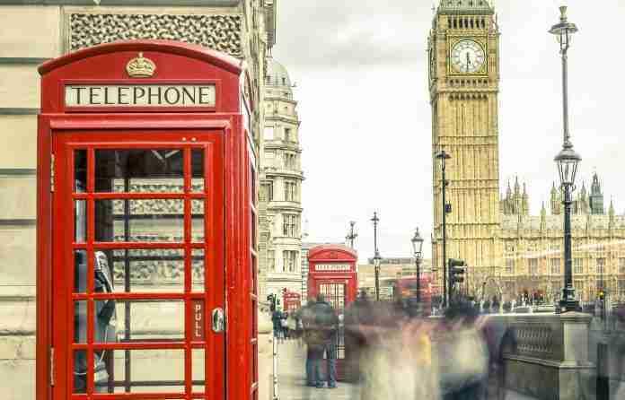 London phone booth