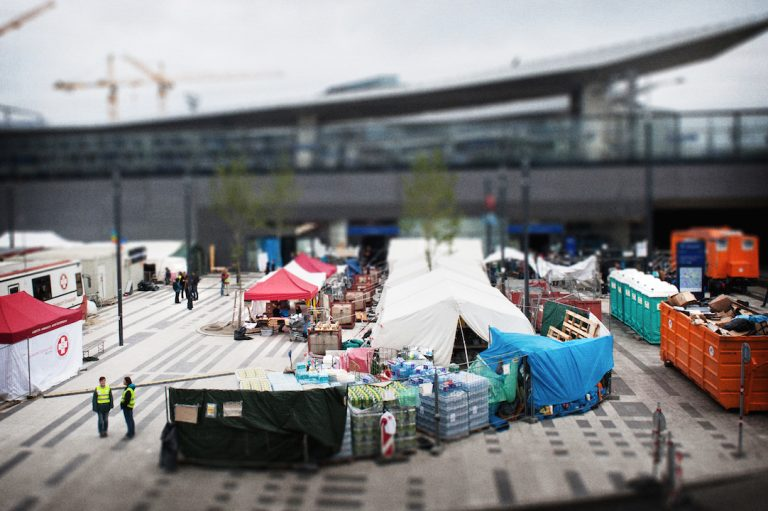 The Train of Hope:  Among the Refugees at Vienna's Hauptbahnhof