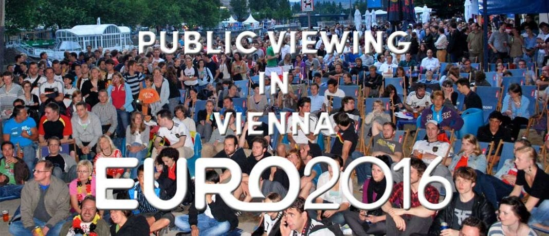 public viewing EURO 16 Vienna