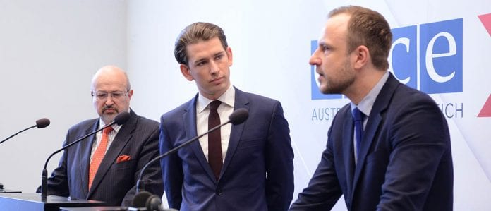 Kurz takes over the OSCE