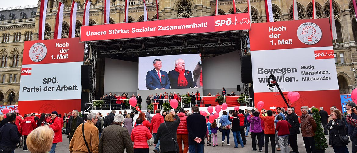 Raise the Red Flag – How the Viennese celebrate May Day