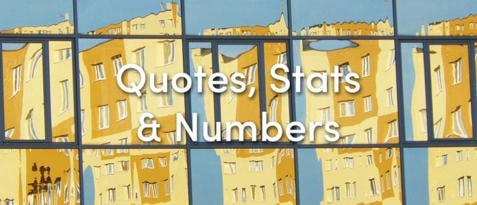 quotes stats numbers design