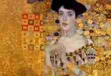 klimt woman in gold