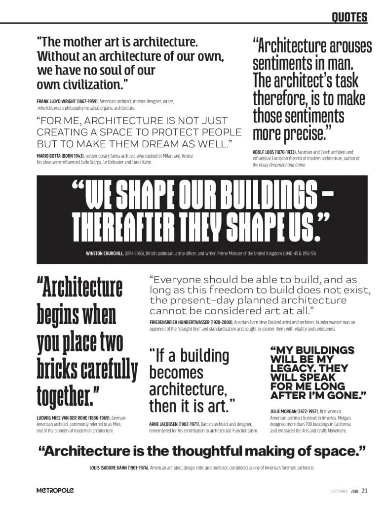 Our quotable quotes!