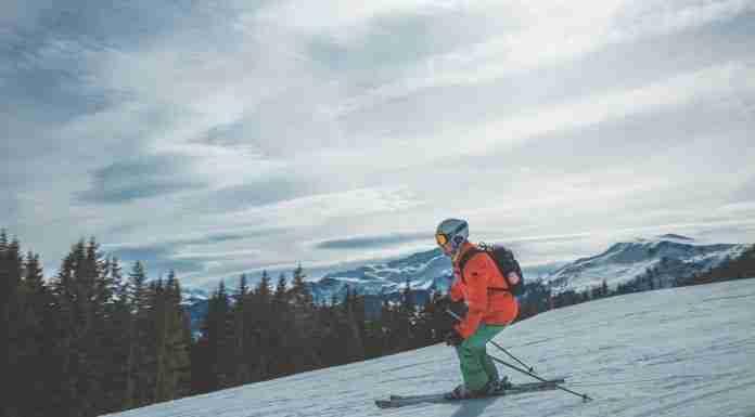 skiing near Vienna