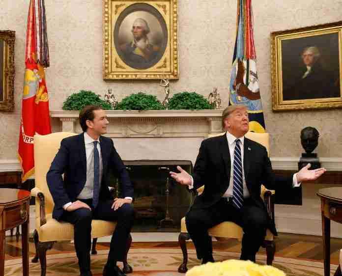 Kurz meets Trump