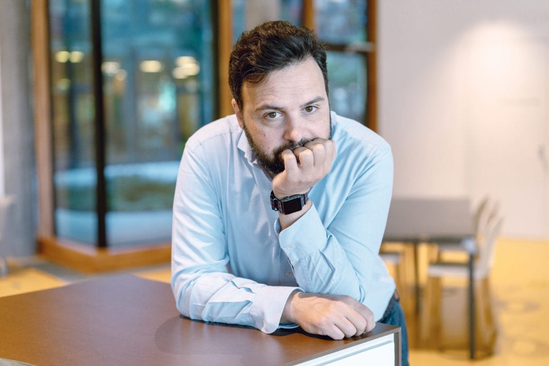 Maurizio Poletto, deigner of the George online banking app