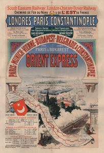 Poster for the Orient Express