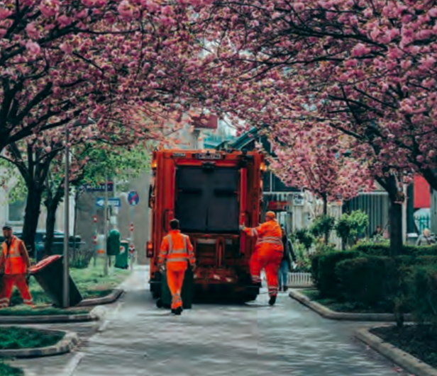 Vienna waste management and street cleaning
