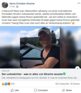 Strache FB
