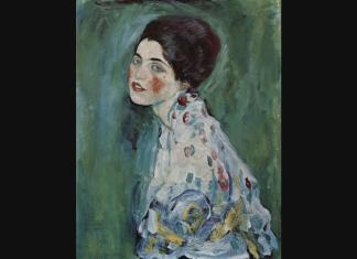 klimt portrait of a lady