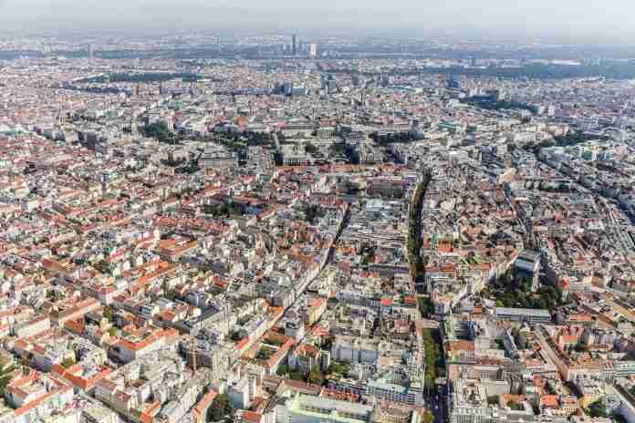 Wien von oben – Vienna from above