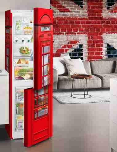 Liebherr London calling fridge