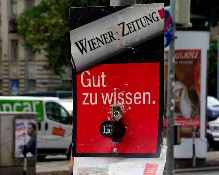 The Wiener Zeitung – Born By Decree, Buried By Bureaucrats