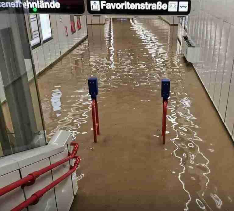 Vienna & Austria Hit With Heavy Rainfall and Flooding