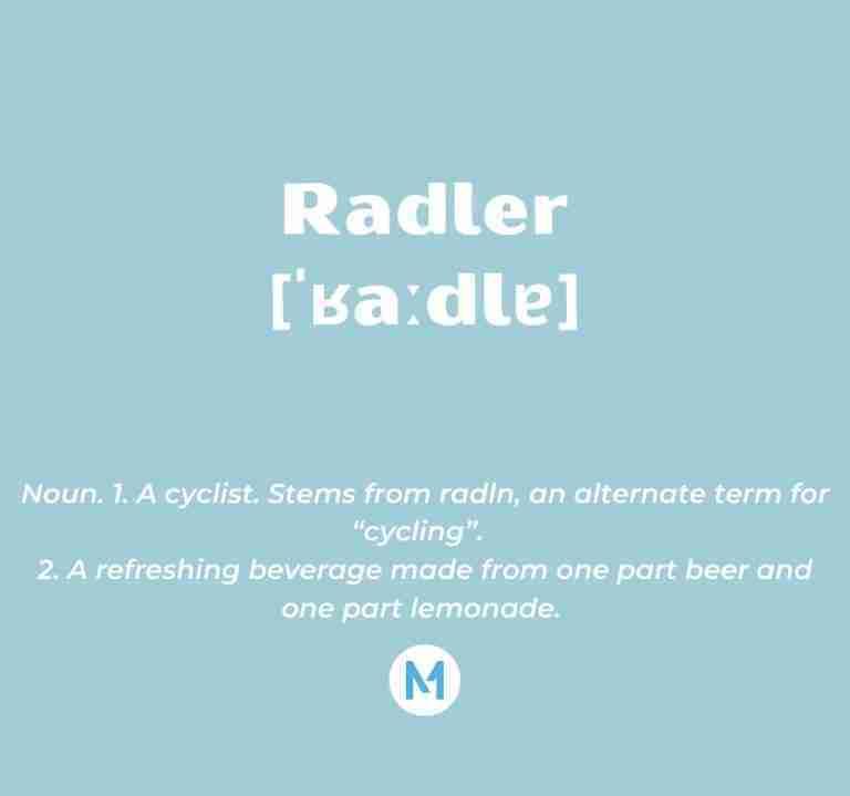 <i>Word of the Week:</i> Radler [ˈʁaːdlɐ]