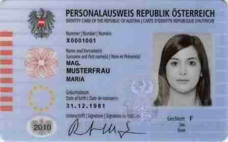 Austria Introduces a New ID Card