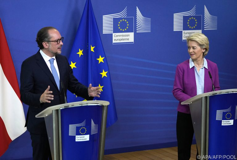 """Chancellor Schallenberg in Brussels: """"The EU Is Part of My DNA"""""""