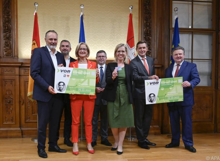 Climate Ticket for Austria-Wide Public Transport Launches
